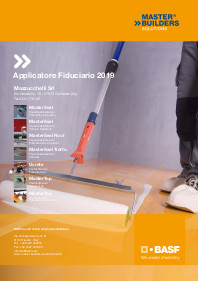 Applicatore fiduciario BASF 2019