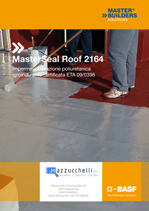 MasterSeal Roof 2164 Mazzucchelli Srl